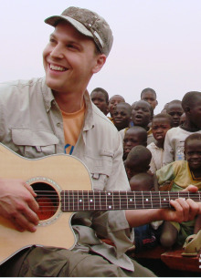 Gavin Degraw in Uganda